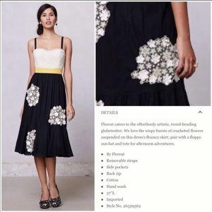 {Anthro} Floreat dandelion wish dress